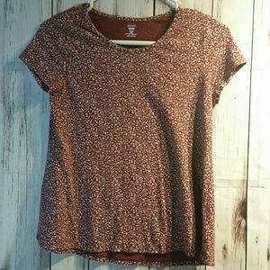 Girls Old Navy maroon top size 14